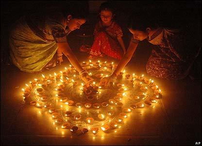 Le luci del Diwalii