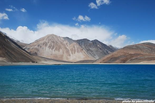 Pangong Tso Lake - confine tra India (Ladakh) e Cina (Tibet), 4250 msl -