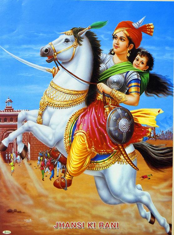 Jhansi India  City new picture : Rani Lakshmi Bai La Regina che ha combattuto fino all' ultimo ...