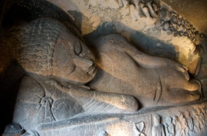 Ajanta Caves, India - paintings and sculptures