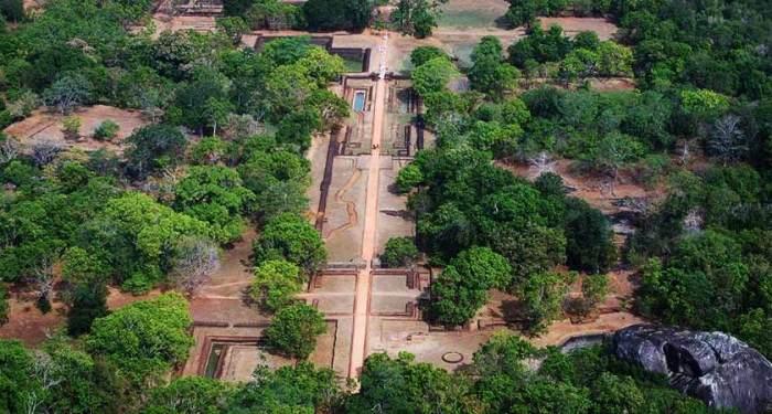 Sigiriyarock-fortress