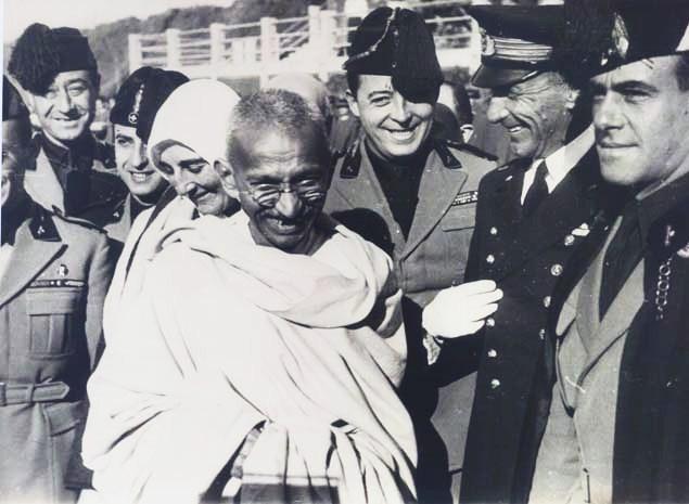 Gandhi a Roma