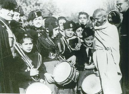 Gandhi in Rome