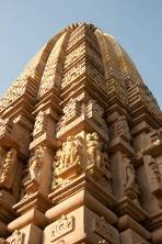 "Sikhara, a Sanskrit word literally means ""mountain peak"" and refers to the rising tower in the Hindu temple architecture of India."